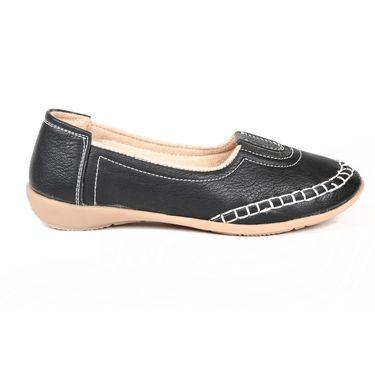 Ten Denim Black Womens Loafers -ts217