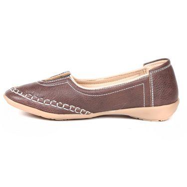 Ten Denim Brown Womens Loafers -ts218