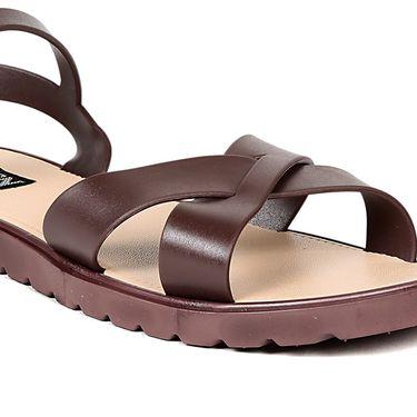 Ten PVC Brown Sandals -ts311
