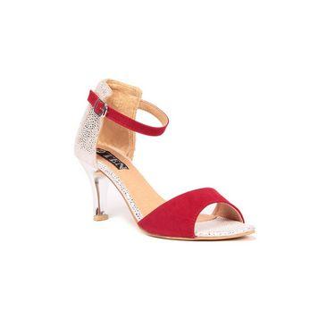 Ten Suede 181 Women's Sandals - Red