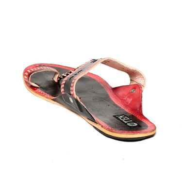 Womens Ethnic Slippers tj32 -Black