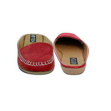 Ten  Denim Red Sandals -ts229