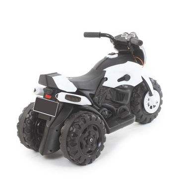 Kids ATV Electric Bike With Music and Lights - White