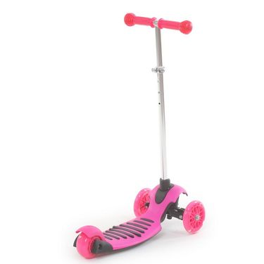 Height Adjustable Kick Scooter for Kids - Pink
