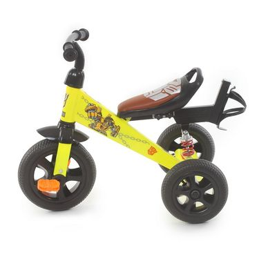 Troopers Super Tricycle With Shock Absorbers - Yellow and Black