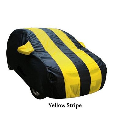 Ford Fiesta Car Body Cover  imported Febric with Buckle Belt and Carry Bag-TGS-G-WPRF-30