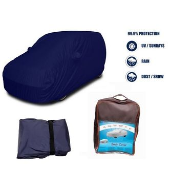 Maruti  800 Car Body Cover  imported Febric with Buckle Belt and Carry Bag-TGS-G-WPRF-79