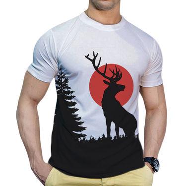 Effit Printed Casual Tshirts_Trw0617 - White