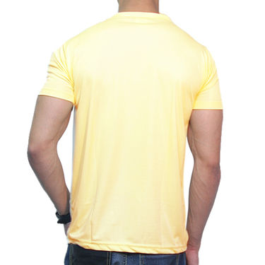 Effit Printed Casual Tshirts_Try0609 - Yellow