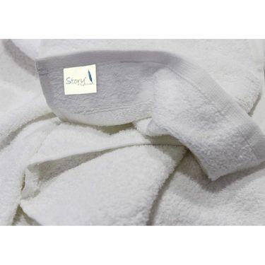 Story@Home 6 Pcs Premium Towel Combo 100% Cotton-White-TW1201_2X-2M