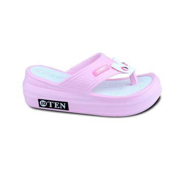 Ten PVC Sandals For Women_tenbl052 - Pink