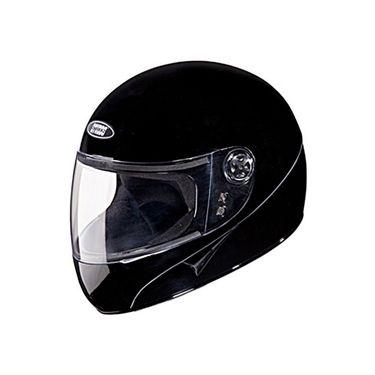 Studds - Full Face Helmet - Chrome Super (Black) [Large - 58 cms]