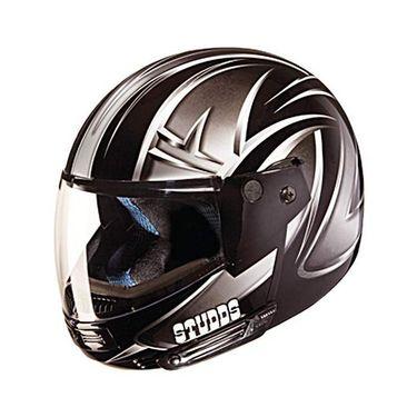 Studds - Full Face Helmet - Ninja Decor FlipUp (D5 Black N4) [Extra Large - 60 cms]
