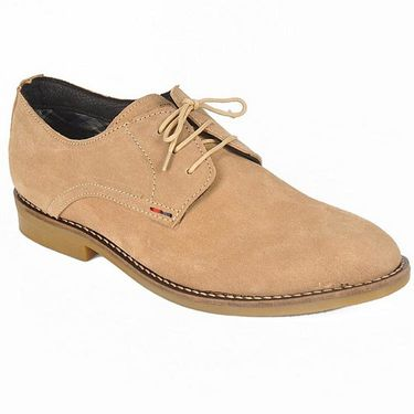 Tommy hilfiger  Synthetic Leather Casual  Shoes Camel