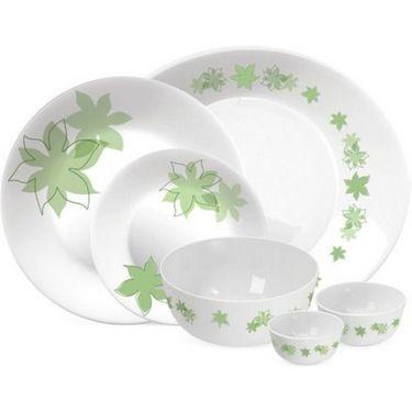 Treo Bormioli Autumn Leaf Dream Pack of 27 Glass Dinner set   LE-TREO-001-27