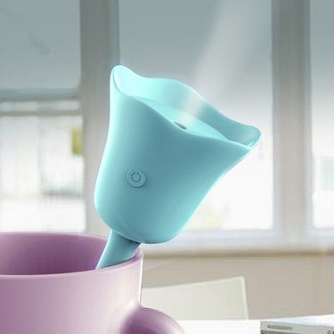 Branded Flower Shaped Air Humidifier