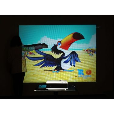 XElectron Full HD 120- 800 Lumens XE40 LED Projector with AV, HDMI & USB port