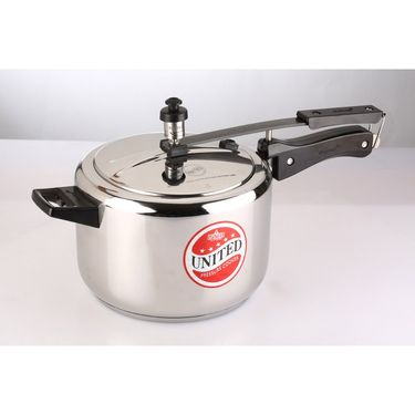 United Innerlid Pressure Cooker Steeltuff Stainless Steel 3 Ltr