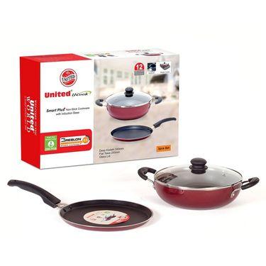 United Ucook Non-stick cookware Set 3 Pcs