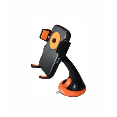 Vibrandz Colourful Phone Car Holder - Orange