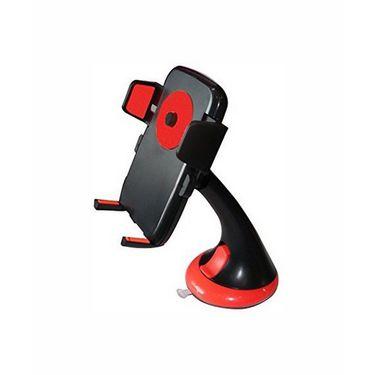 Vibrandz Colourful Phone Car Holder - Red