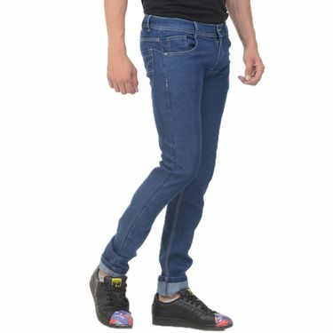 Pack of 3 Plain Slim Fit Jeans_Vgncm3 - Blue