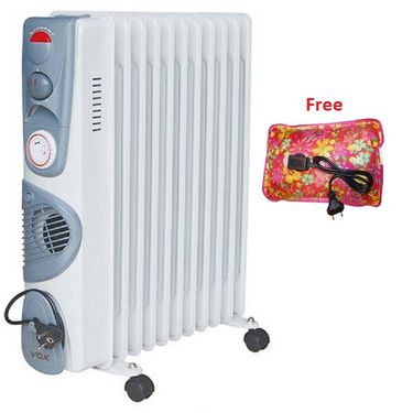 VOX (X-OD11TF) 11 Fin Oil Filled Heater - White