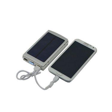 Vox 7000mAh Solar Charging Power Bank - White