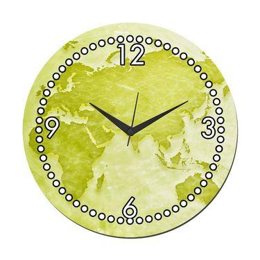 meSleep World Digital Printed Wall Clock-WC-R-01-17