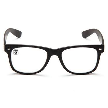 Royal Son Wayfarer Non Metal Sunglasses_What0085 - Transparent