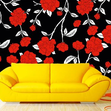 meSleep Floral Water Active Wall Paper 40 x 120 Inches-WPWA-03-11