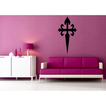 Black Decorative Wall Sticker-WS-08-077