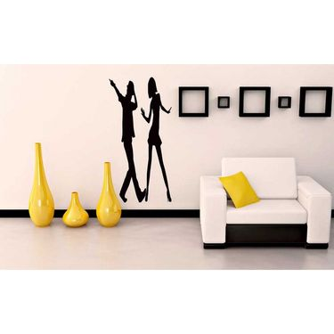 Couple Decorative Wall Sticker-WS-08-131