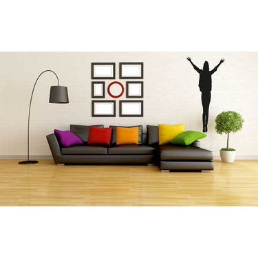 Dancing Boy Decorative Wall Sticker-WS-08-173