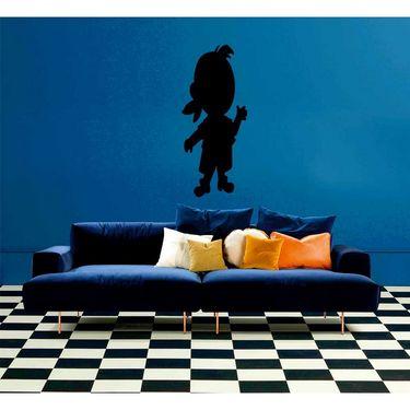 Black Qute Baby Decorative Wall Sticker-WS-08-199