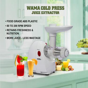 Wama Cold Press Juice Extractor