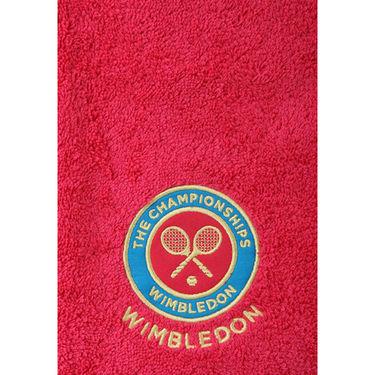 Wimbledon Ladies Guest Towel - Berry