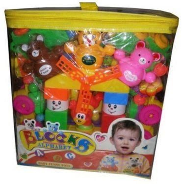 Learning Baby Alphabet Blocks - Multicolor