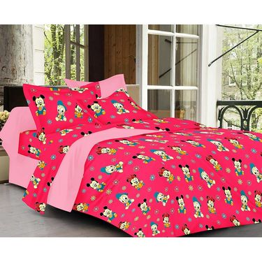 valtellina Set of 2 Double Bed Sheets with 2 Pillow Covers-Y_083-093