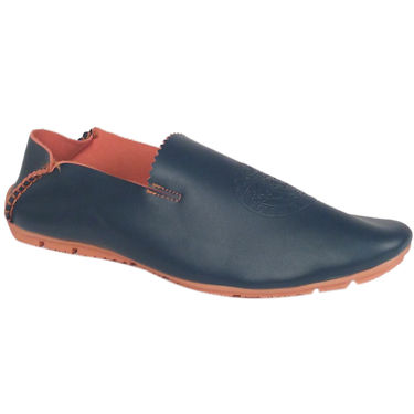 Synthetic Leather Blue Casual Shoes -oy10