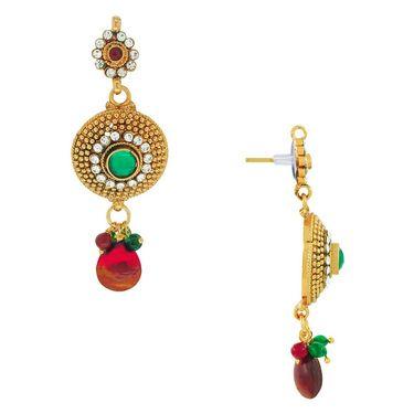 Spargz Antique Pendant Earring Set_Aips070