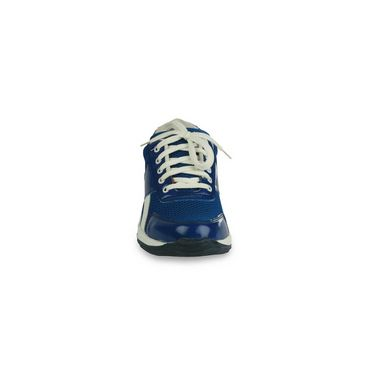 Bacca bucci-Rubber mesh-Sports Running shoes-Blue:White-5816