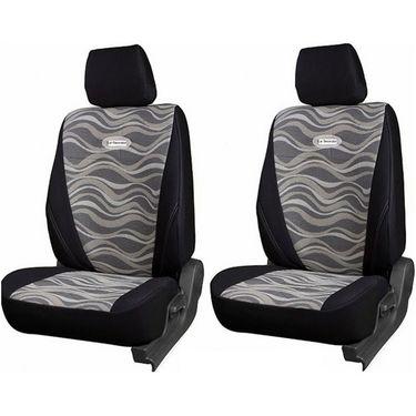 Branded Printed Car Seat Cover for Hyundai i20 - Black