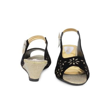 Do Bhai Suede  Sandals  classic-Golden