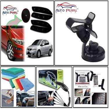 Combo of Air Compressor + Car Dent Remover + Car Scratch Remover + Car Vacuum Cleaner + Car Tyre Repair Kit