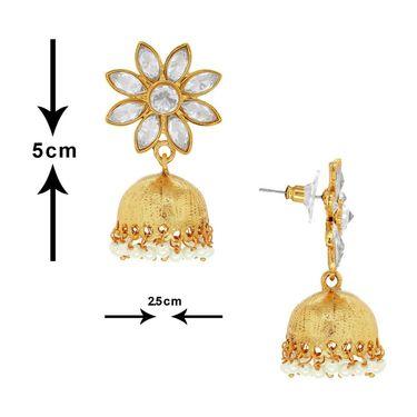 Spargz Combo of 3 Pair Ethnic Designer Jhumki Earring_Cb348