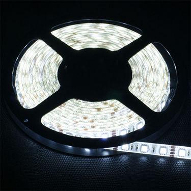 Cuttable LED Strip Light for Car/Home (5Mtr) - White