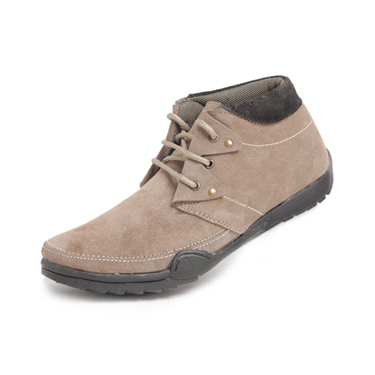 Foot n Style Suede leather Boots  FS134 - Beige