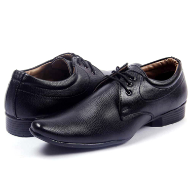 Foot n Style Formal Shoes  FS223 - Black