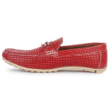 Foot n Style Red Loafers -Fs3054